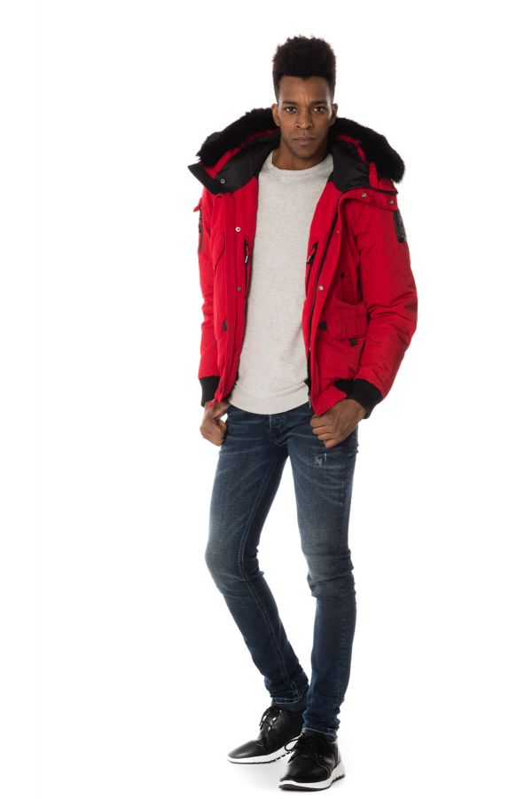 Blouson Homme Helvetica ANCHORAGE ROUGE
