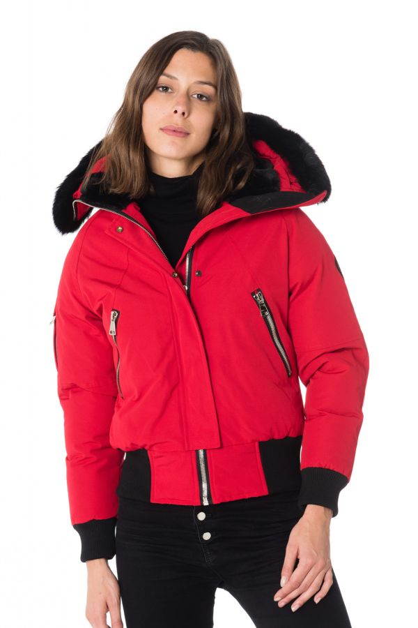 Blouson Femme Helvetica JURA WOMEN DARK EDITION RED
