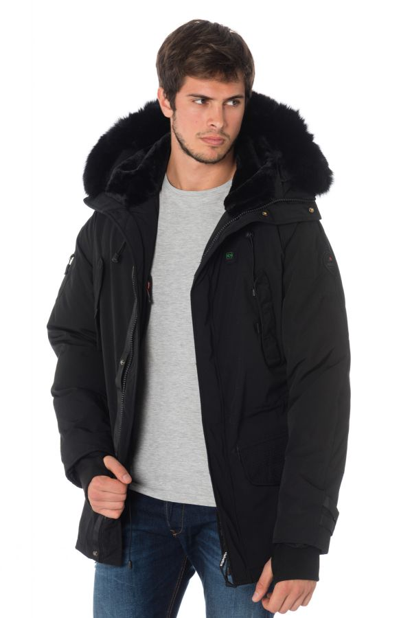 Veste Homme Helvetica EXPEDITION MEN EWARM DARK EDITION BLACK