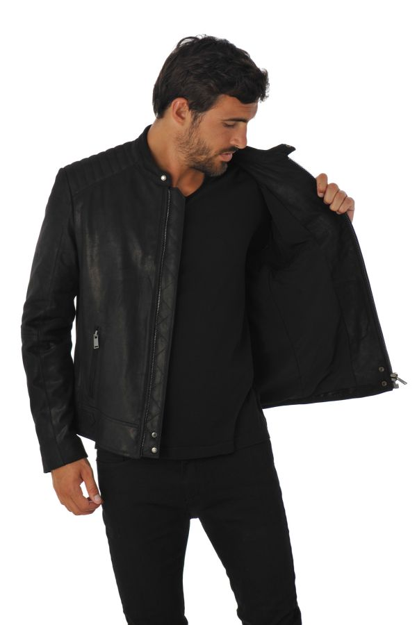 Blouson Homme Intuition THEO NOIR NEPAL