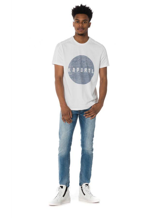 Tee Shirt Homme Kaporal PILON WHITE