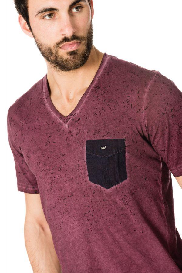 Tee Shirt Homme Kaporal DAN WINE H17
