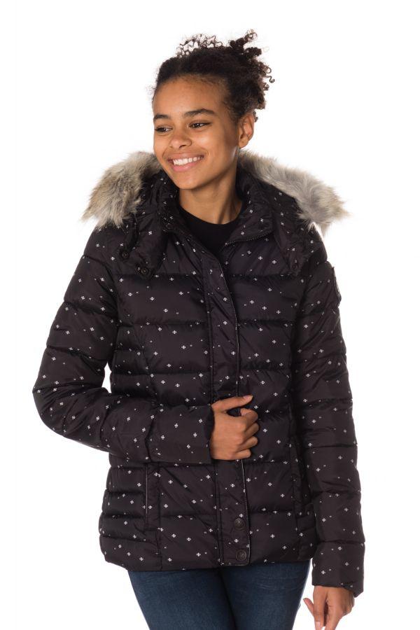 Blouson Femme Kaporal BASIL BLACK H17