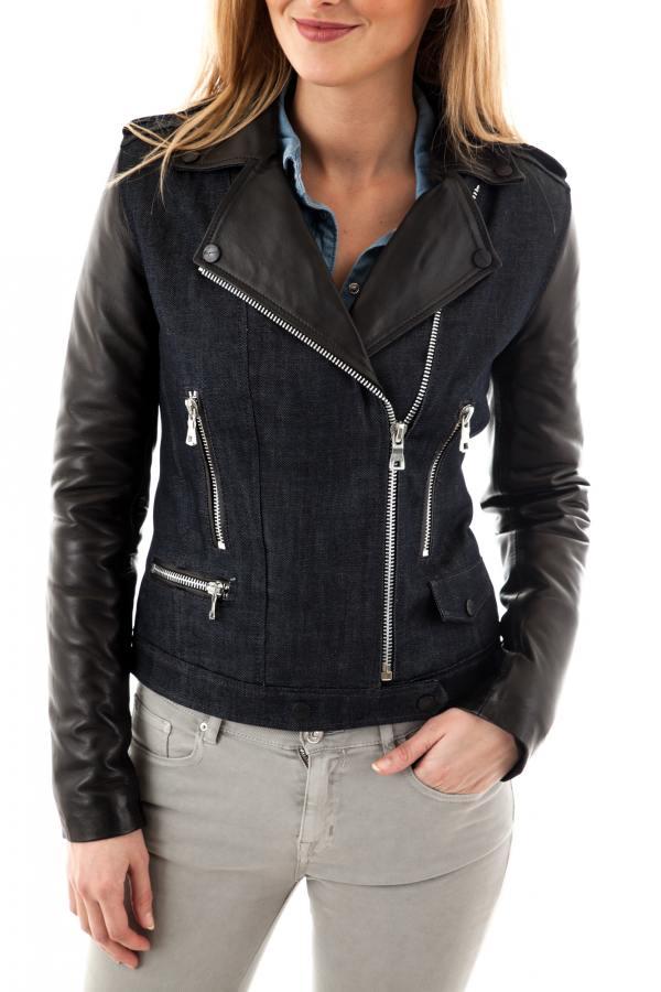 Blouson Kaporal Yulie Leather Femme Zz rUACwrqx