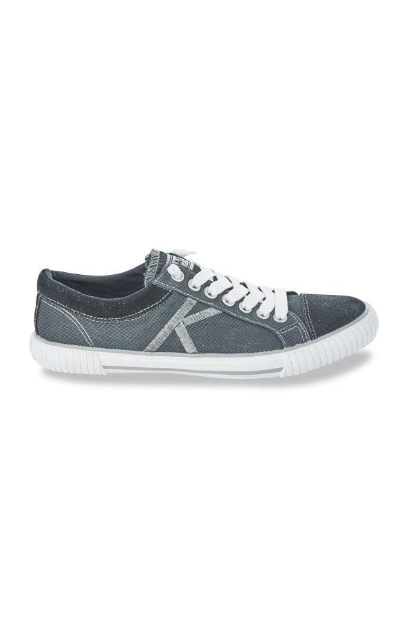 Baskets en toile Homme Kaporal Shoes ODESSA NOIR 11955