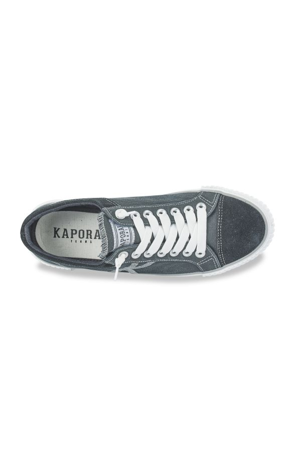 Baskets En Toile Homme Kaporal Shoes ODESSA NOIR 11955