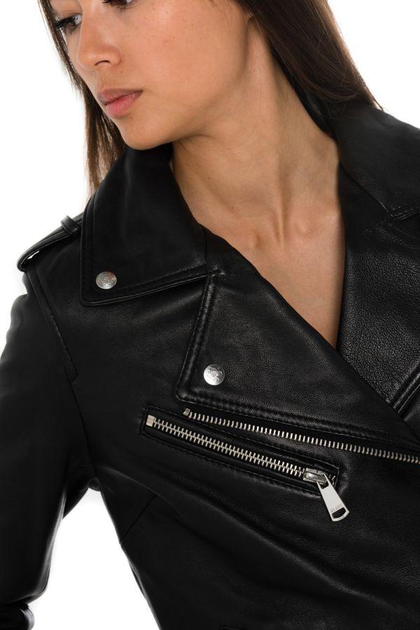 Blouson Femme Ladc ENORA DENIM GUNS BLACK