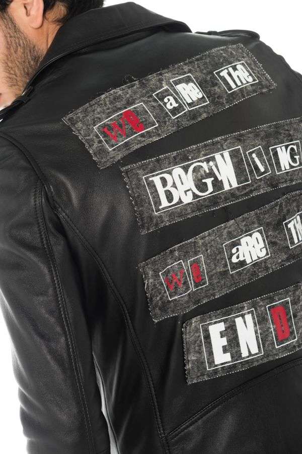 Blouson Homme LADC JAGGER MILAN THE END BLACK