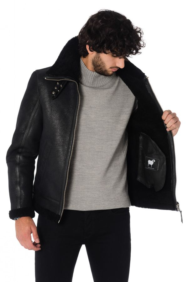 Blouson Homme LADC JAMES BLACK/BLACK