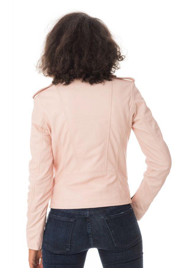 Blouson Femme Ladc DIANE ROSE POUDRE