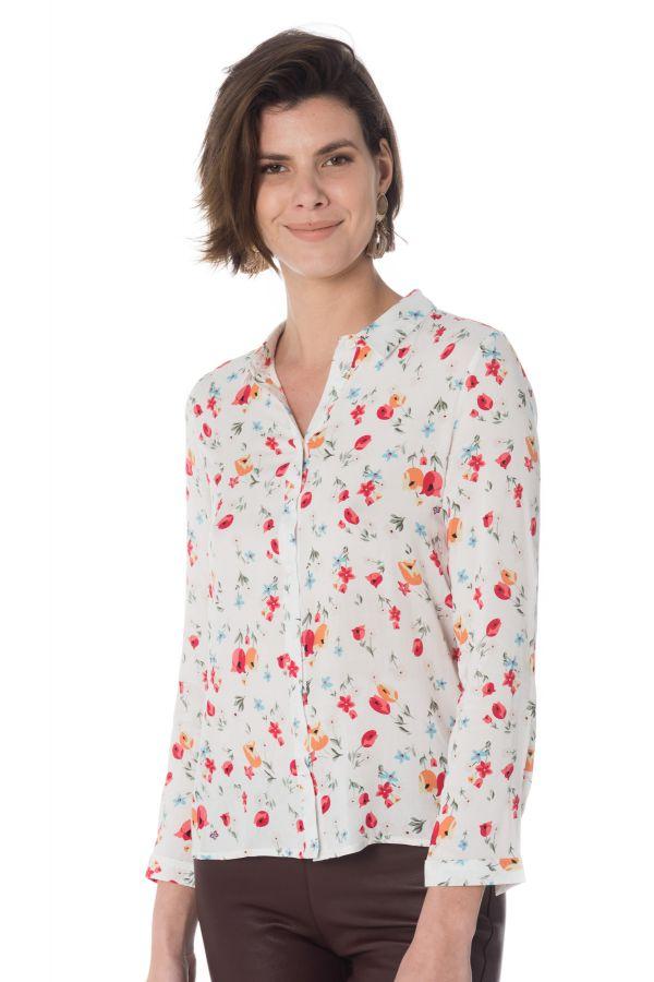 Chemise Femme La Petite étoile ROMIE BLANC