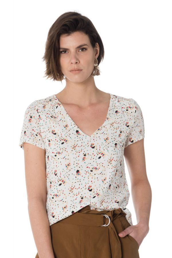 Tee Shirt Femme La Petite étoile ILLONA ECRU