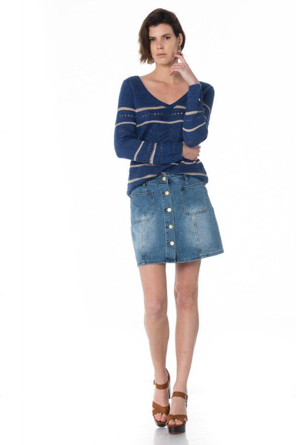 Jupe/robe Femme La Petite étoile JOHANNA BLEU CLAIR