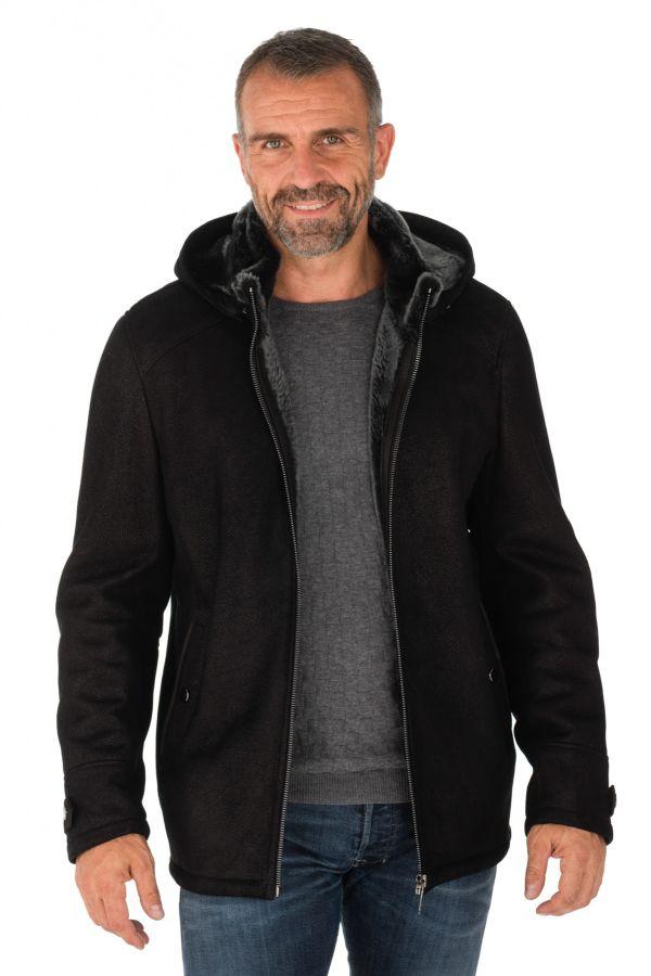 Blouson Homme Levinsky WALT NAPPA LAMB BLACK
