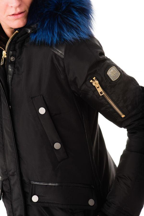 Blouson Femme Nicole Benisti BRERA BLACK BLUE ZZ