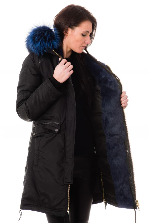 Blouson Femme Nicole Benisti BRERA BLACK BLUE