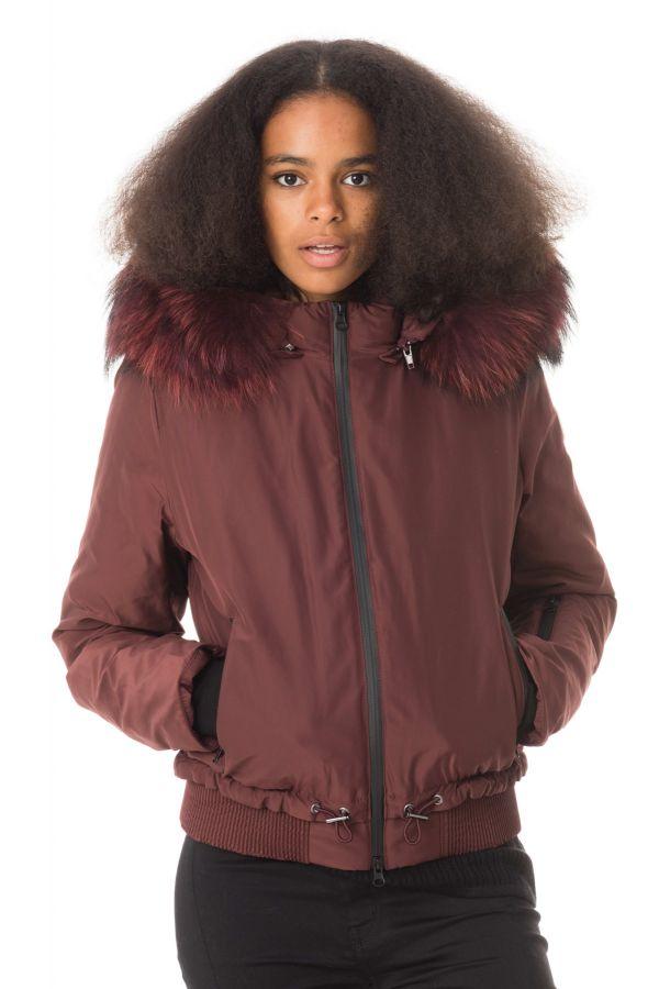 Blouson Femme Oakwood SNOW BORDEAUX 540