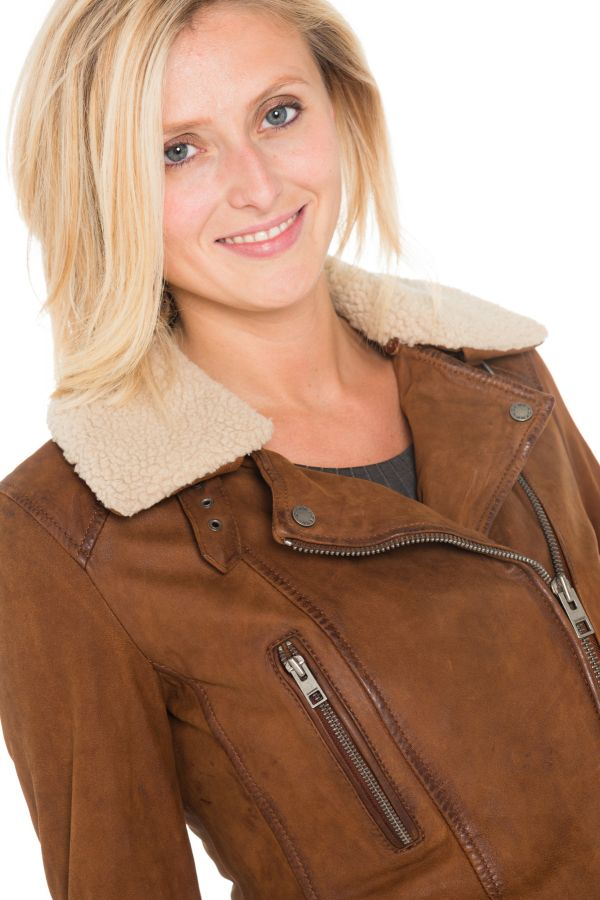 Blouson Femme Oakwood PROJECTION WHISKY 508