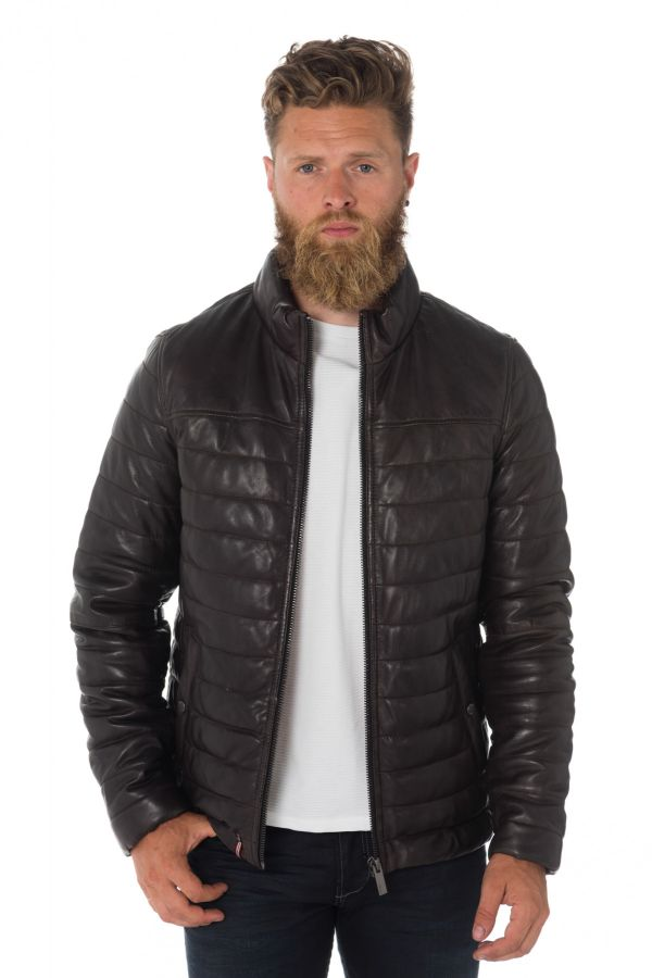 Blouson Homme Oakwood FOOTLOOSE CHOCO 505