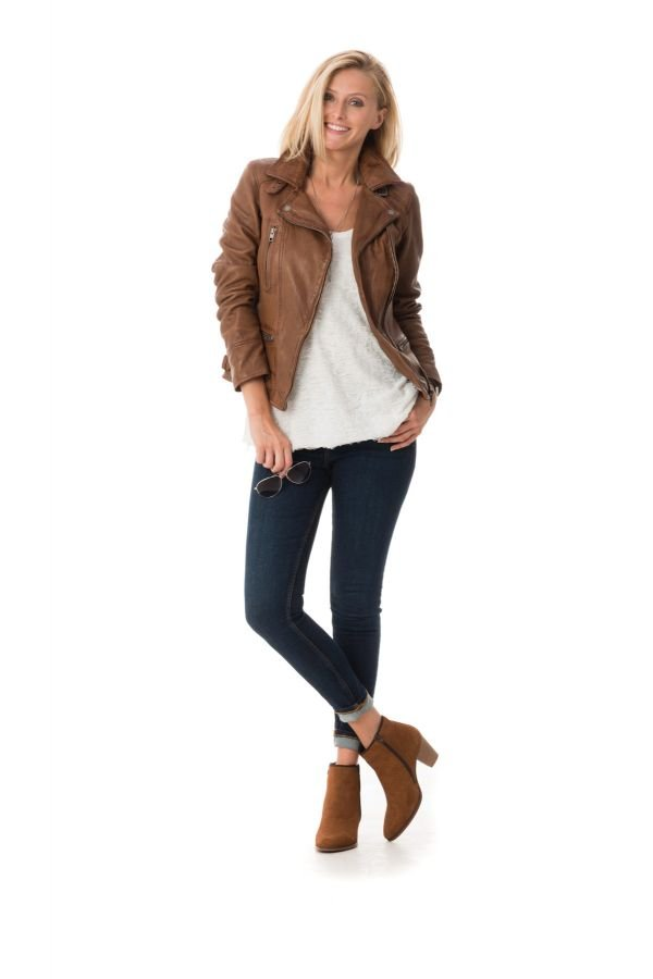 Blouson Femme Oakwood VIDEO TAN 515