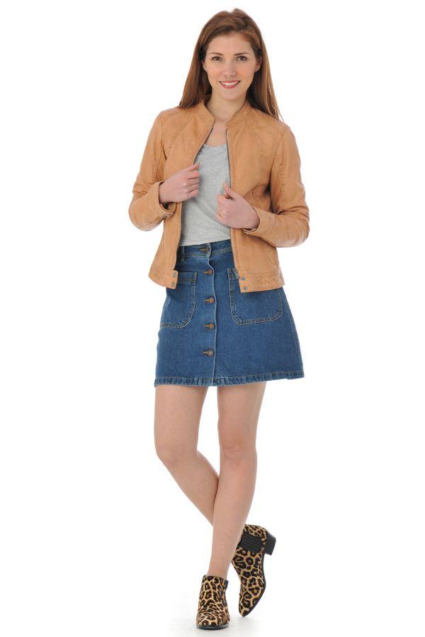 Blouson Femme Oakwood CALLAS NEW ORANGE CLAIR 550