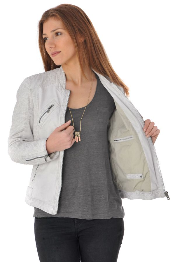 Blouson Femme Oakwood HALL NEW BLANC 520