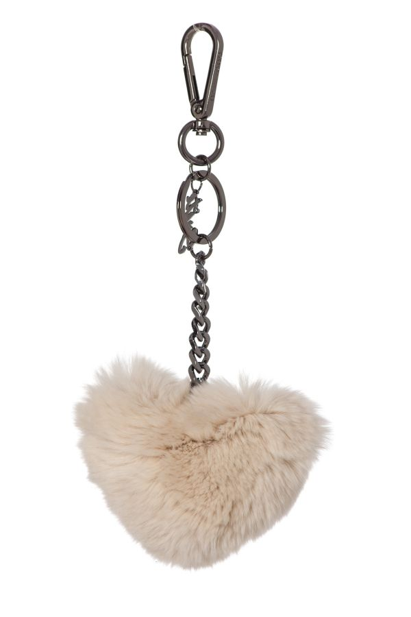 Porte clef Femme Oakwood CHARM BEIGE CLAIR 514