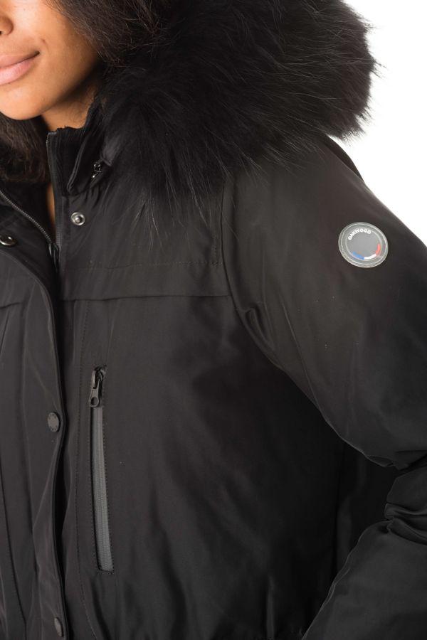 Cuir Cuir Cuir Veste Altitude Altitude Altitude Oakwood Femme Noir 501 WxqBB48Xw0
