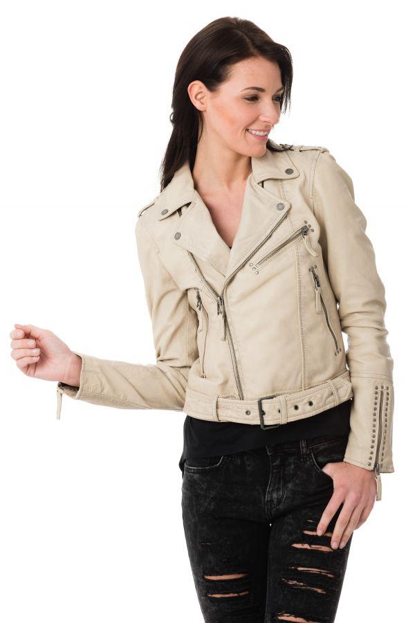 huge discount 9b7b0 08804 Blouson-Oakwood-Perfecto-Oakwood-beige-clair -coupe-feminine-file-58aff4453f051.jpg
