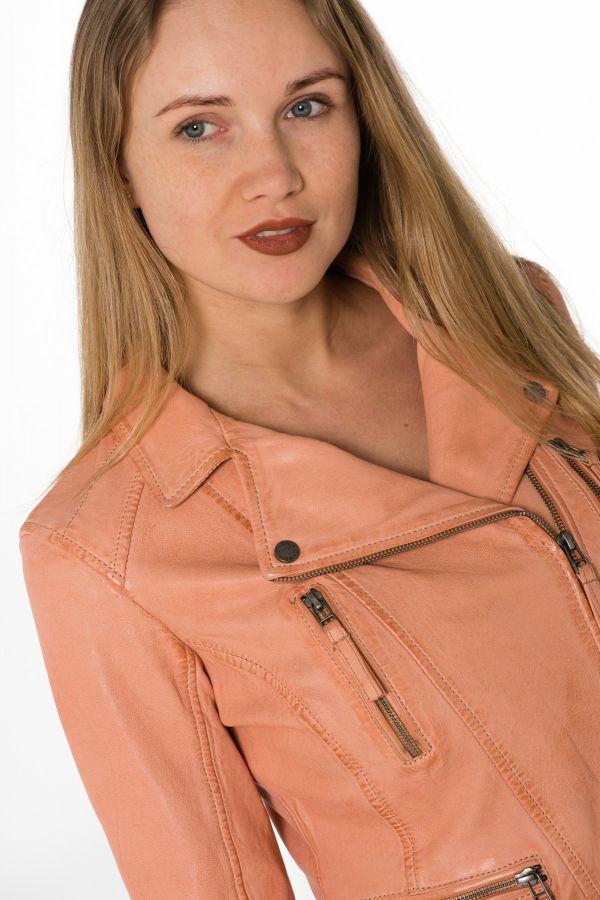 Blouson Femme Oakwood CAMERA ORANGE CLAIR 550