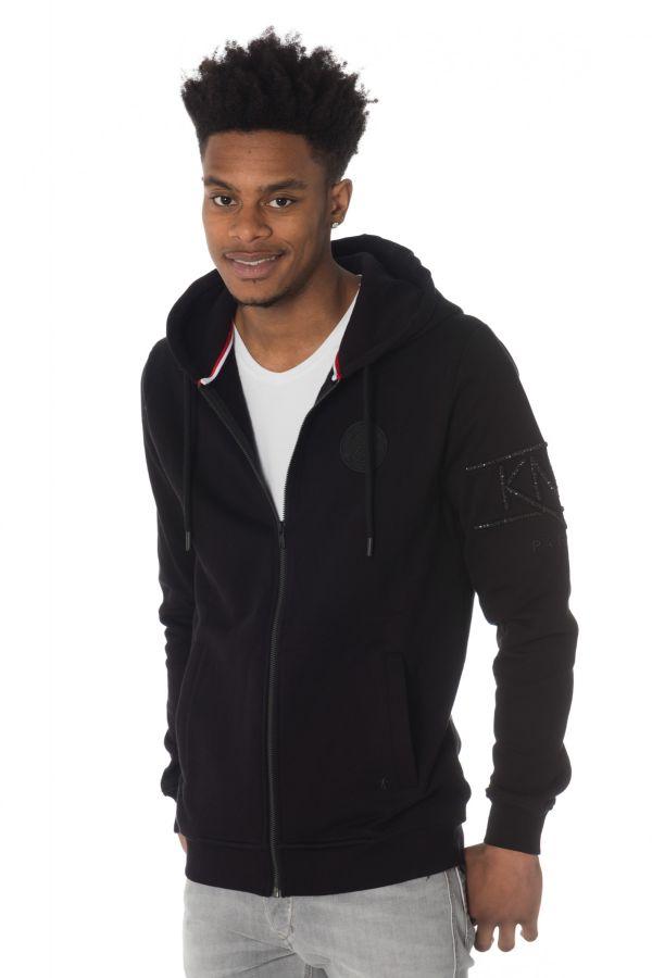 Saint Germain Paris Noir Homme Kyli D Cuir Pullsweatshirt wgxStS