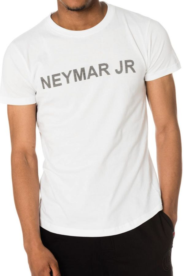 Tee Shirt Enfant Paris Saint Germain T-SHIRT D NAHIL JUNIOR BLANC NEYMAR