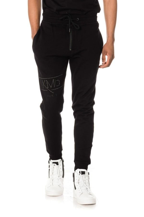 Pantalon Enfant Paris Saint Germain PANT JOG JKYLIJOG JUNIOR NOIR MBAPPE