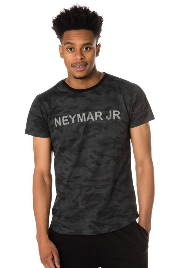 Tee Shirt Homme Paris Saint Germain T-SHIRT D NAHIL NOIR NEYMAR