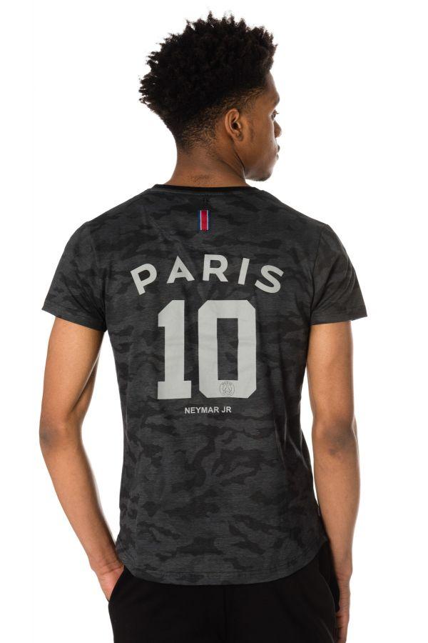 Tee Shirt Homme Paris Saint Germain T-SHIRT D NAHIL NOIR NEYMAR