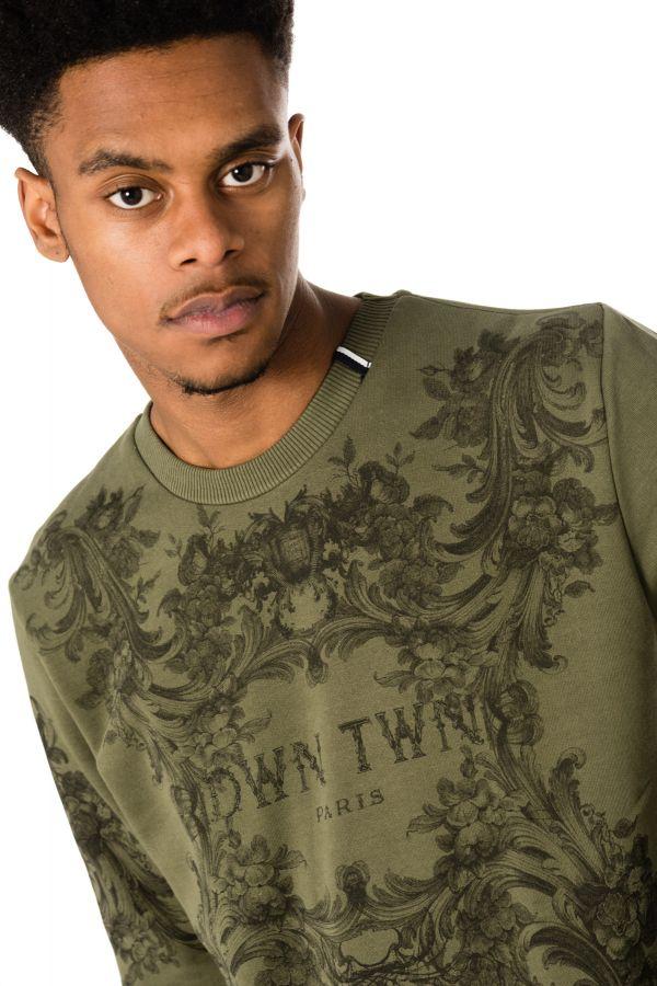 Pull/Sweatshirt Homme DWN TWN D BEAVER KAKI