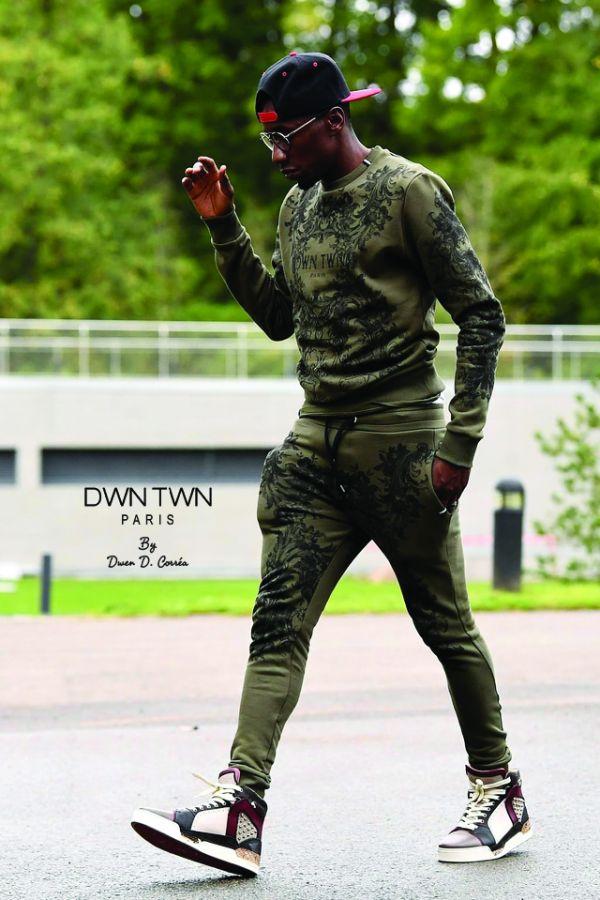 Tee Shirt Homme DWN TWN T-SHIRT D FREE KAKI
