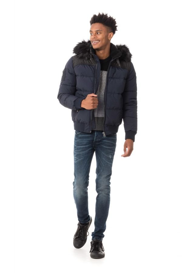 Blouson Homme Redskins HELTHY NAVY BLUE