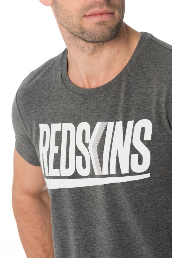 Tee Shirt Homme Redskins RICH CALDER ANTHRACITE CHINE