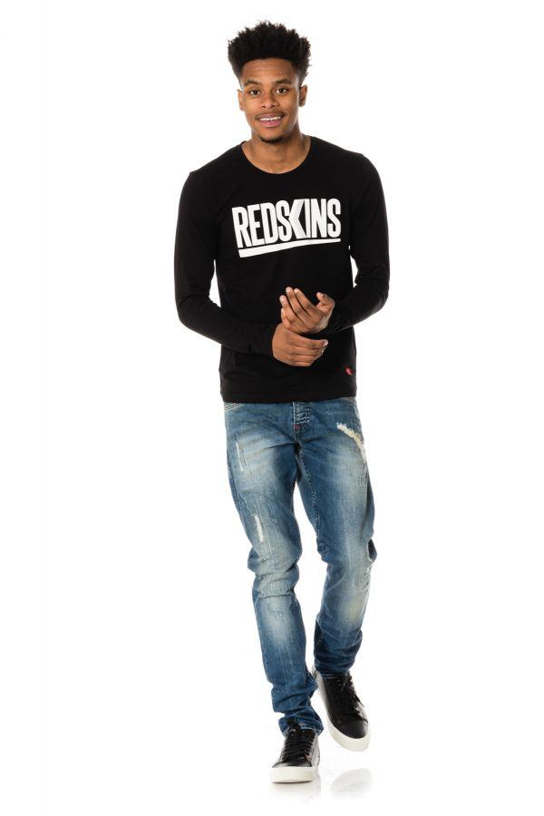 Tee Shirt Homme Redskins ULTRA CALDER BLACK