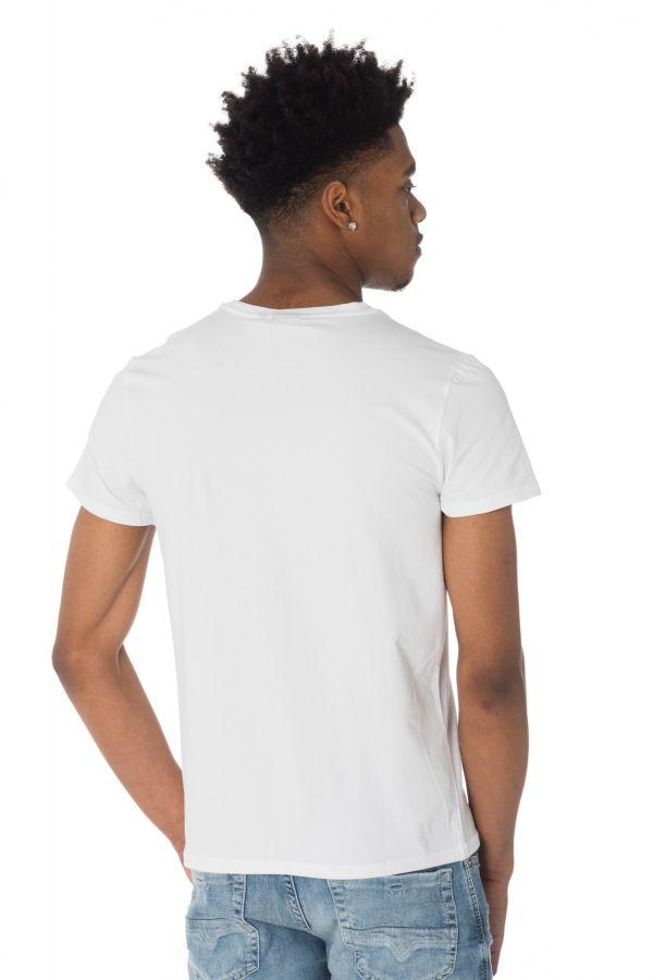Tee Shirt Homme Redskins SOFTBALL CALDER WHITE