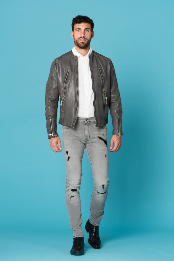 Blouson Homme Redskins ROYCE JANEIRO CHARCOAL