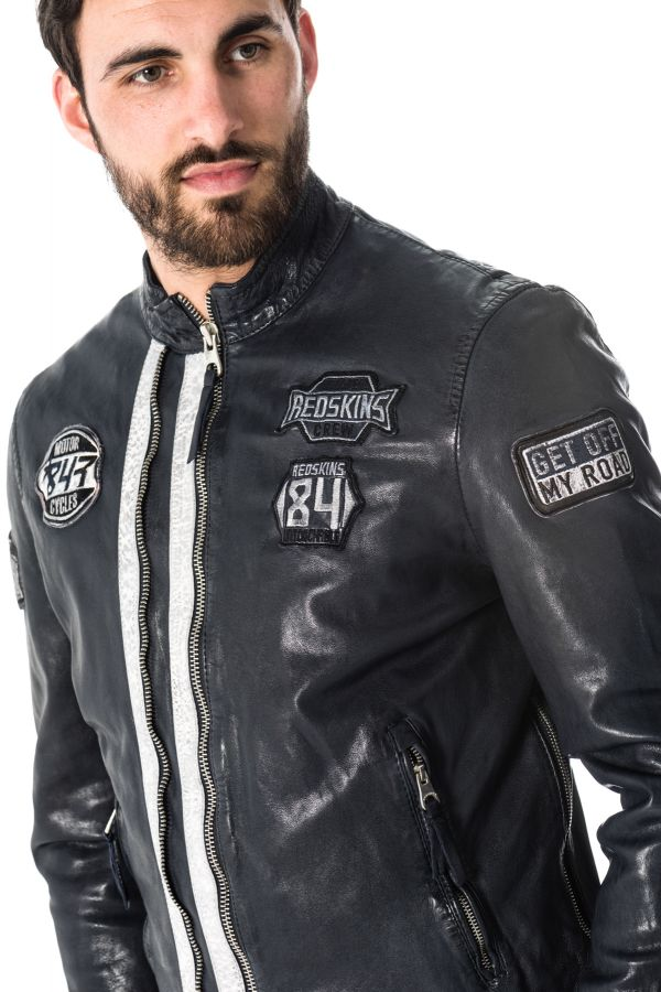 Blouson Homme Redskins REESE CALISTA NAVY BLUE ICE