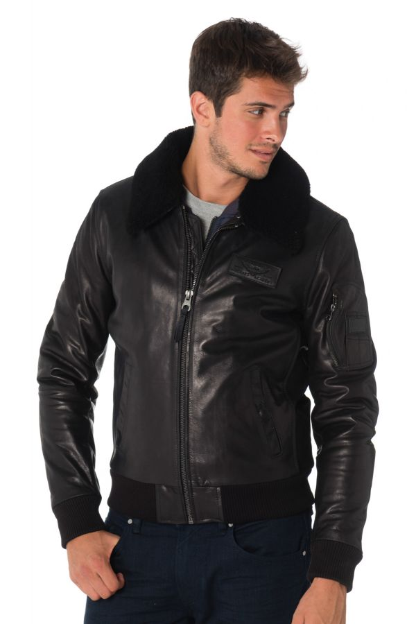 Blouson Homme Redskins COMMANDER STRIKING BLACK H19