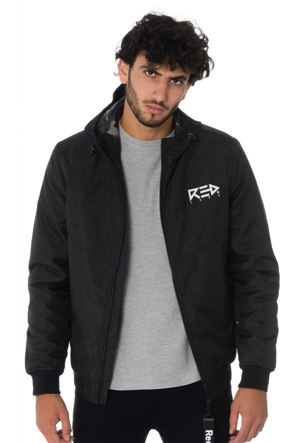 Blouson Homme Redskins RELEASE FURTHER BLACK/BLACK