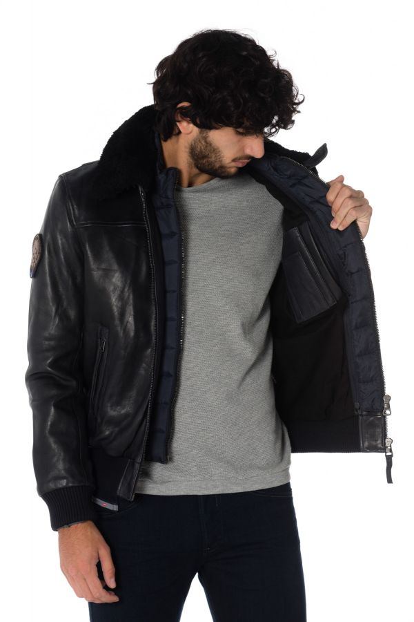 Blouson Homme Redskins RAFAL YCON NAVY BLUE H18