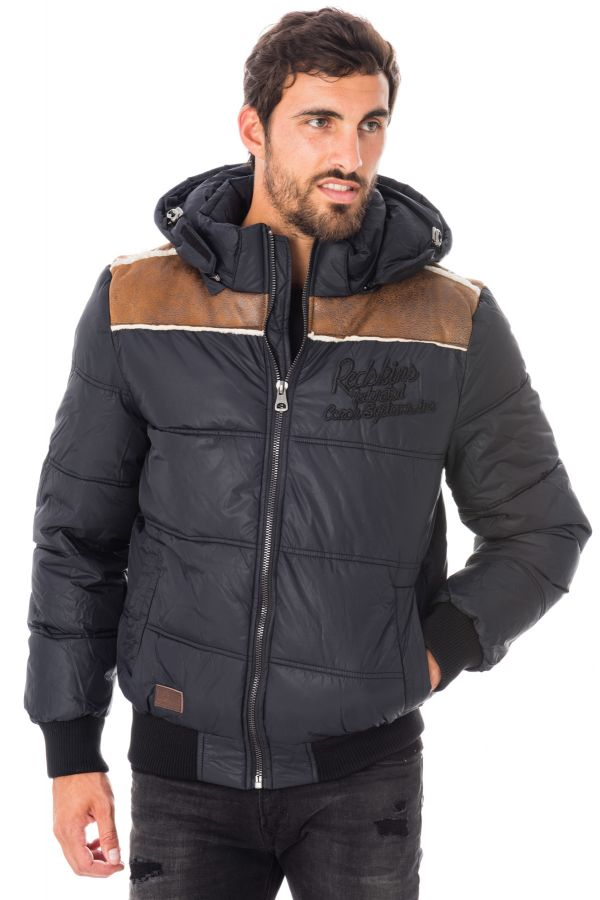0841a469ab1f Blouson Homme Redskins WILLY GOLT BLACK H15 - Cuir-city.com