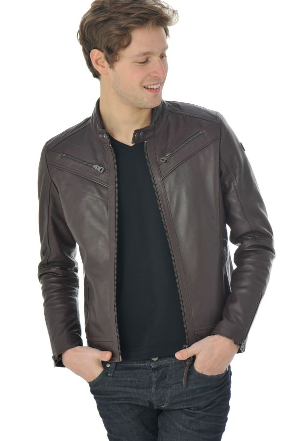 Blouson Homme Cuir Redskins Zg47wg1qw First Starking Plume FxTP8