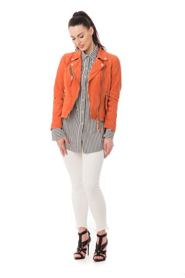 Blouson Femme Redskins BRIDGET AFRICAN ORANGE
