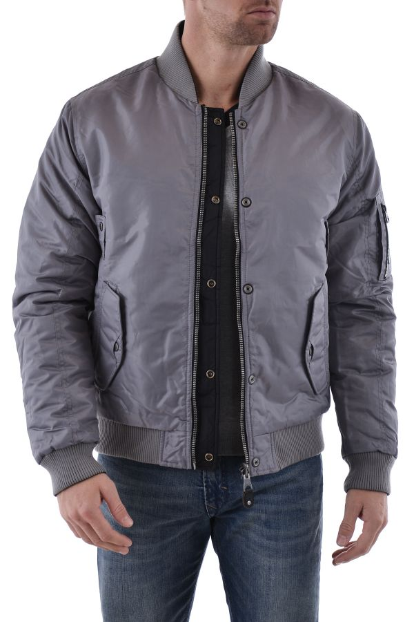 Blouson Homme Redskins HUNTER ELDORADO GREY BLACK H15